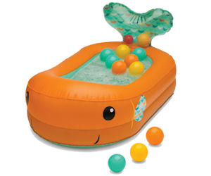 The Infantion company is looking for families with children from 6-24 months old to test out their new bubble bath Inflatable tub #free