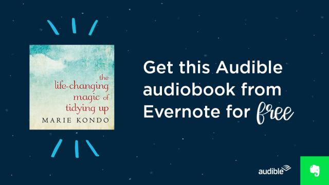 Free Audio Book Life-Changing  Magic of Tidying Up*FREE* (Reg$25)