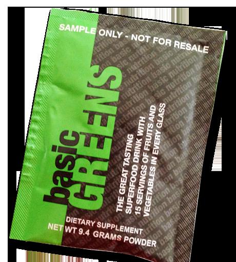 FREE Sample of BasicGreens