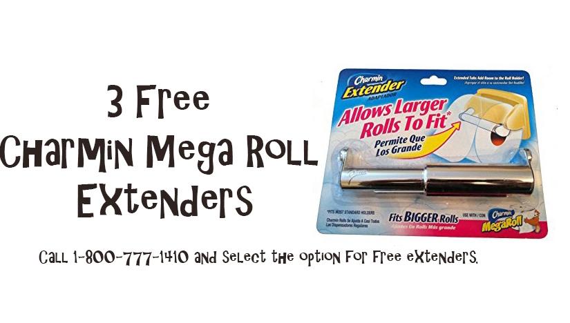 3 Free Charmin Mega RollExtenders
