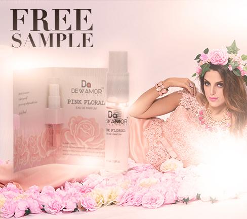 Dewamor Pink Floral Scent sample*FREE*