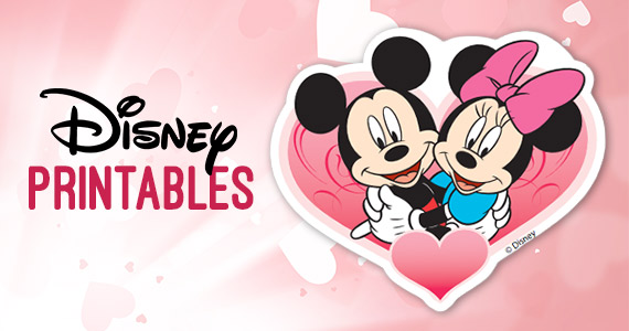 Free Disney Valentine Printables – Super Cute