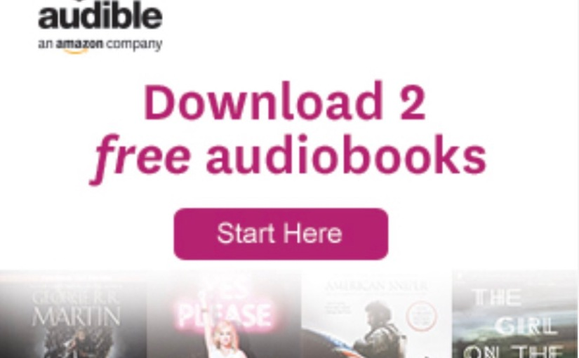 2 Free Audiobooks from Audible!