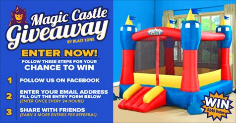 Enter the Magic Castle Giveaway! Grand Prize $249 Value