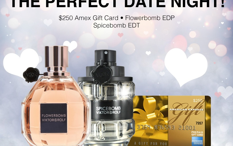 Perfect Date Night Giveaway $250 Amex GiftCard