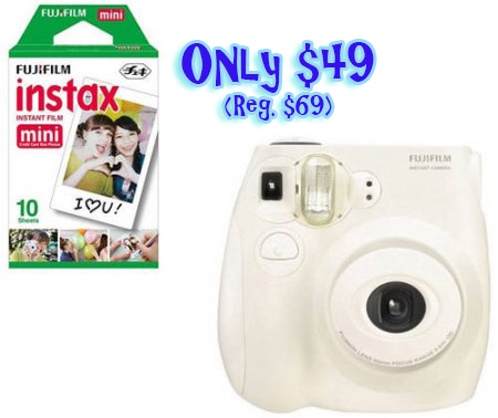 $49 (Reg $69) FujiFilm INSTAX Mini 8 Camera White