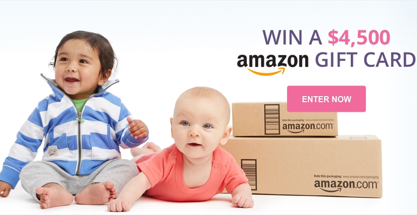 Win A $4,500 AMAZON.COM GIFT CARD