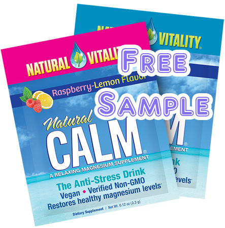 Request your FREE sample of Natural Calm