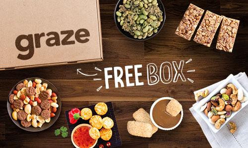 Score a free Graze SnackBox