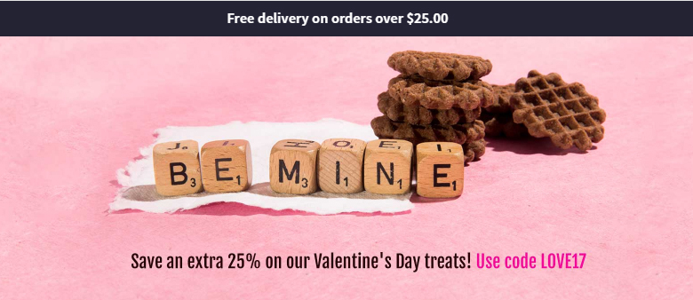 Score 25% off at Nature Box in time for Valentine's Day