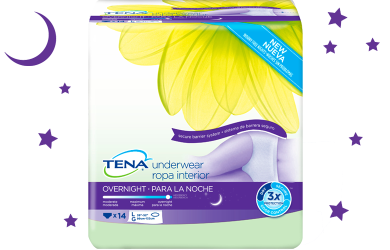 Free Sample Pack Of TENA Underwear