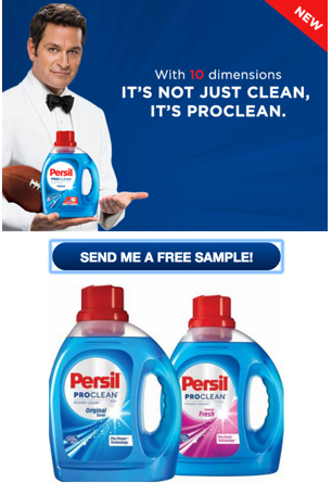 Who wants a free sample of Persil ?