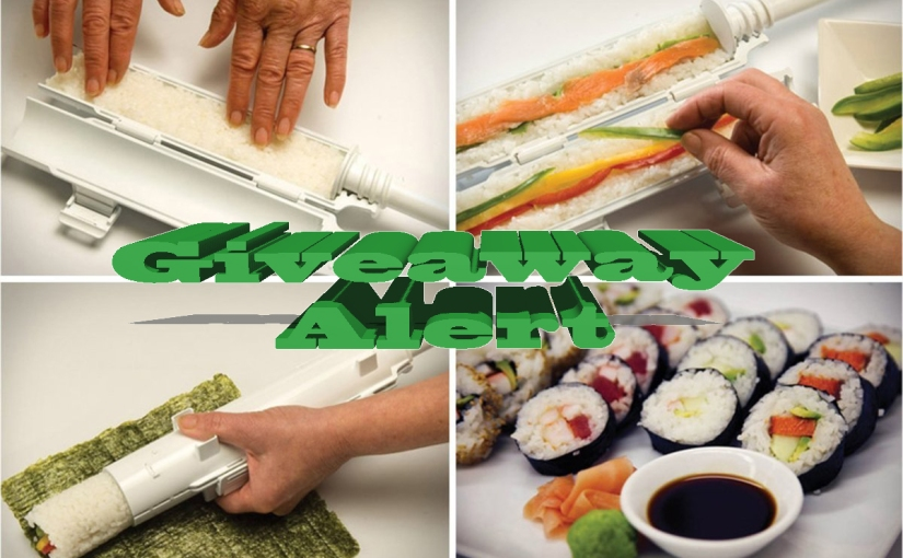 Sushi Bazooka All in 1 Sushi Maker Giveaway