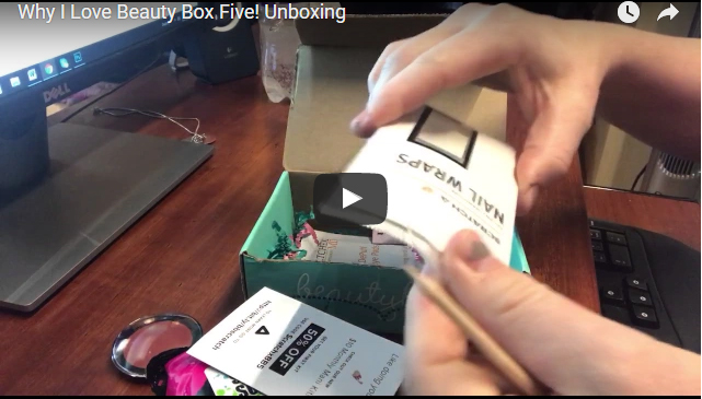 Look what I got in my Beauty Box Five! Unboxing! *FREE Eyeshadow Offer*