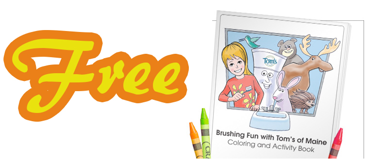 Free Children's Learning To Brush Color Book Download With Your Child's Name!