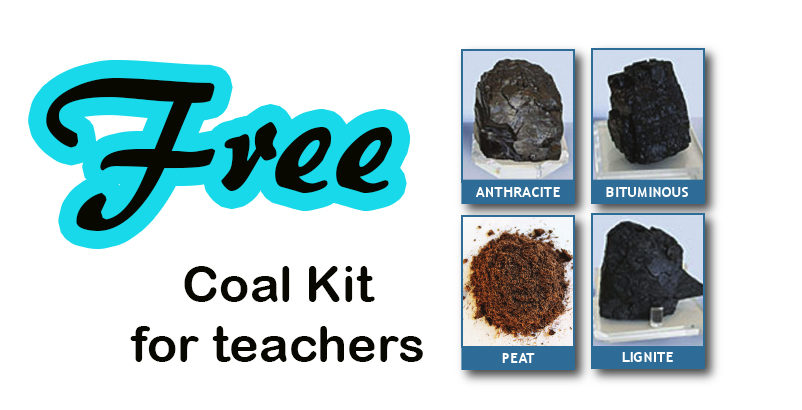Free Coal Kit For Teachers or Home Schooling