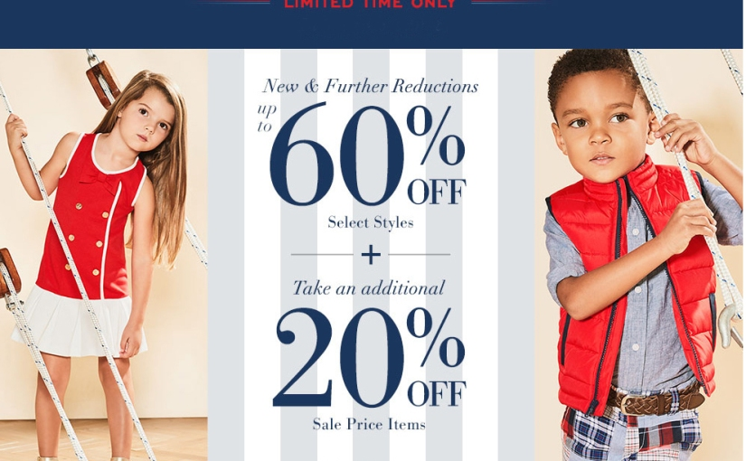 *TODAY ONLY* Up to 80% off at Janie & Jack – Presidents Day Sale