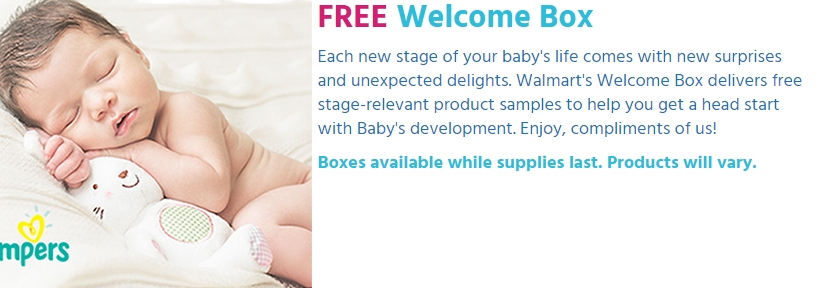 Hurry – Walmart's Baby Box is back again – Hurry before it's gone again