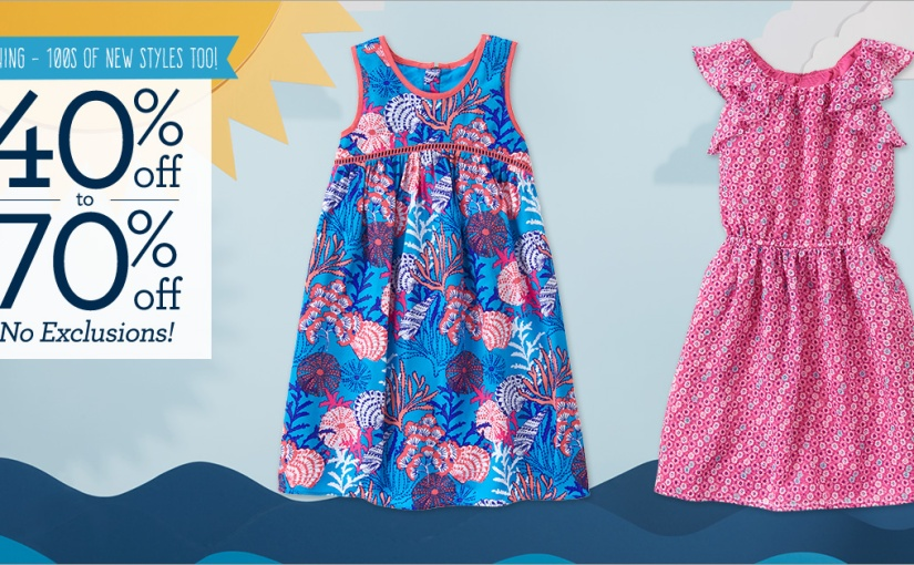 Gymboree Site is 40%-70% Off EVERYTHING + 15% more off for new customers!