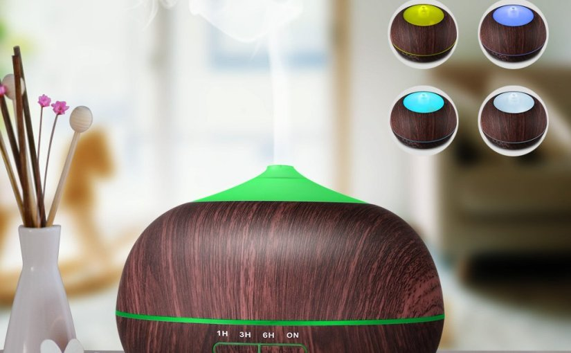 52% Off Tenswall Cool Mist Humidifier &  Essential Oil Diffuser