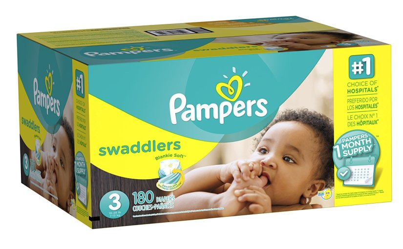 $26.31 (Reg $60) Pampers Diapers + Free Shipping – $0.15 each