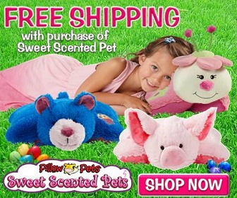 Heads Up! Just in time for Easter Pillow Pets are having a huge sale!