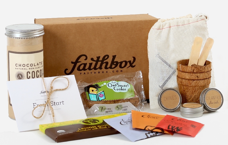 Have you heard of Faith Box? Right now it's 10% off just in time for Easter