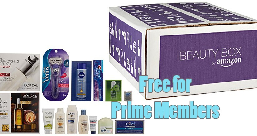 How To Get A Free Amazon BeautyBox!
