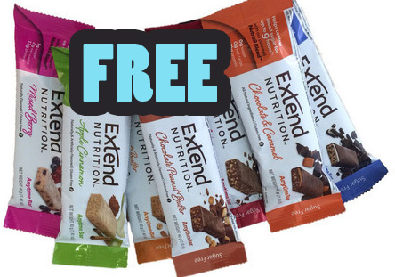Get a free Extend Nutrition Bar