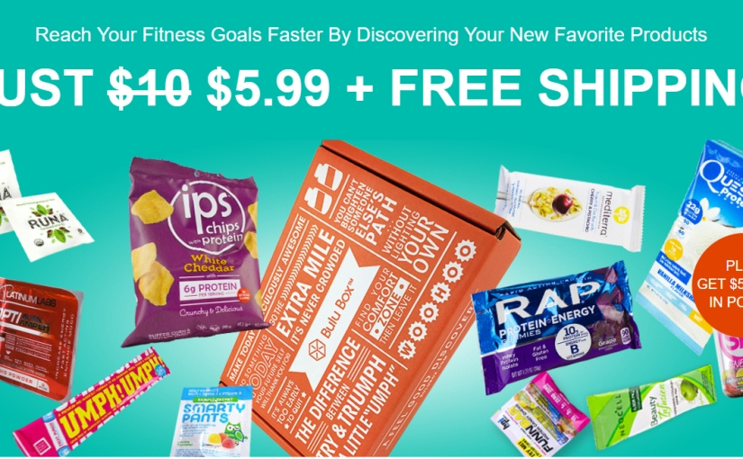 *Hurry* Bulu Box is on sale for only $5.99 + $5 back in points – Fitness + Weight Loss