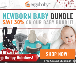 30% off Ergo Baby Newborn Baby Bundle – Great Baby Shower Gift!