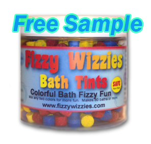 Free Sample of Fizzy Wizzies – Color changing tables for your kids bath water