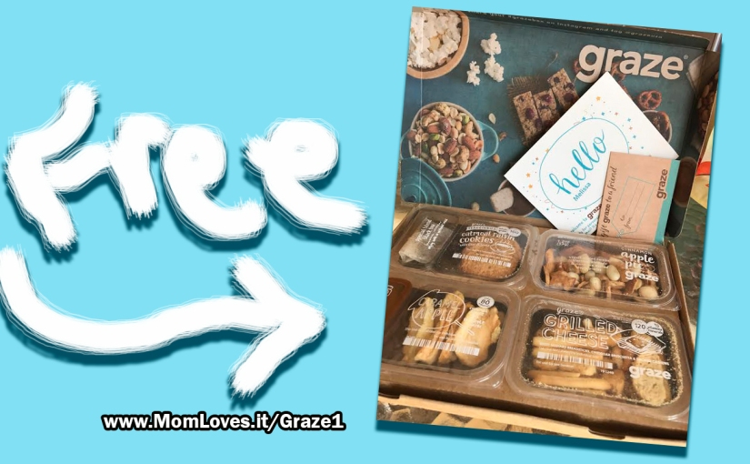 Free Graze Snack Box I just got in the mail!