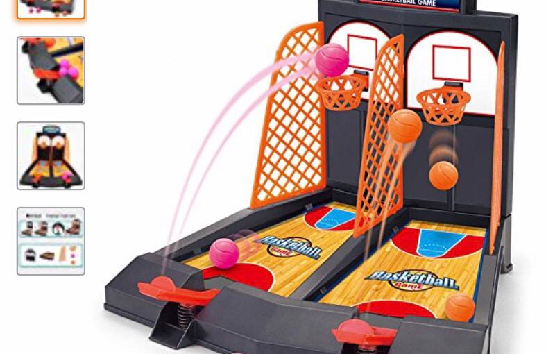 Easter Basket Gift Idea – Basketball Shooting Game $3.85 (reg.$10.99)