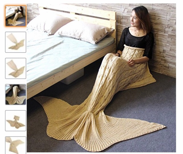Mermaid tail blanket 699 free prime shipping perfect easter i cannot believe this is only 699 free prime shipping hurry before they sell out because this will make a really nice easter gift negle Choice Image