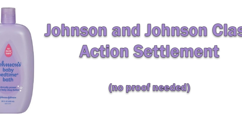 Johnson and Johnson Class Action Settlement