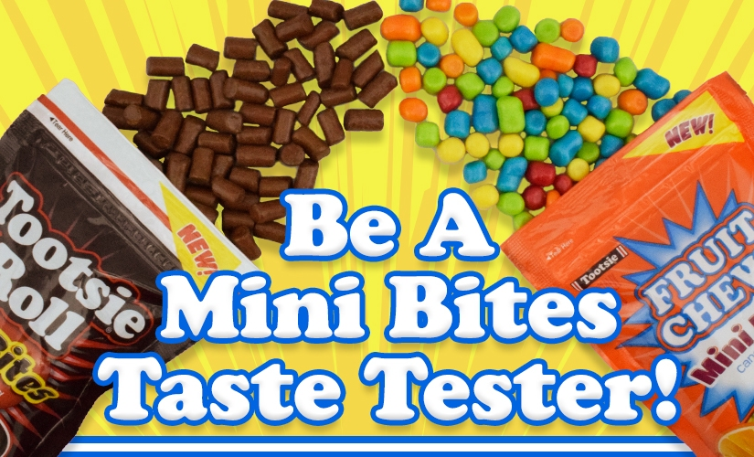 FREE – How to become a Mini Bites Taste Tester!