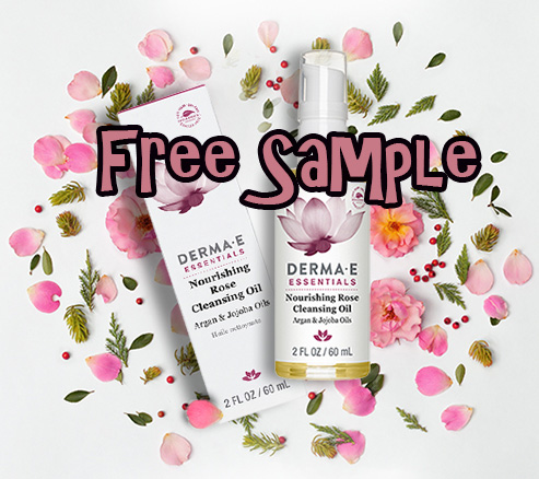 Derma-E Es Nourishing Rose Cleansing Oil – FREE SAMPLE
