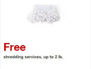 Free Document Shredding At Staples