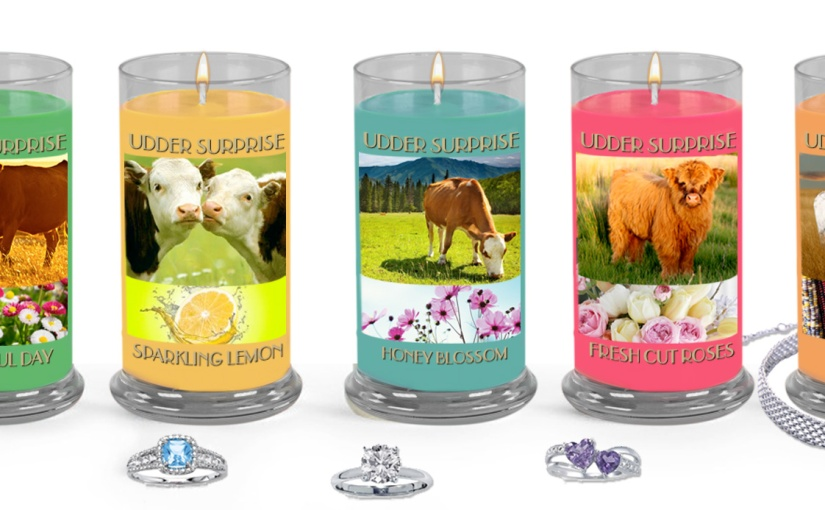 Earn a FREE Candle with a Piece of Surprise Jewelry Inside! Jewelry is Worth $10-$5,000!
