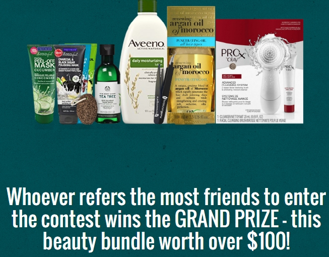 Zenda Naturals Referral Contest! Win $100 worth of beauty products!