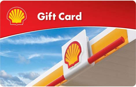 $100 Shell Gift Card Giveaway