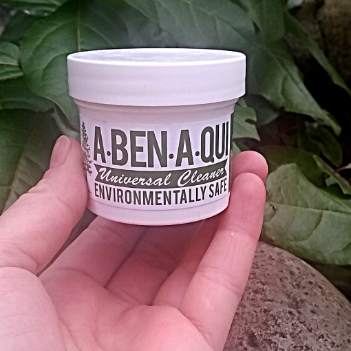 Free A-Ben-A-Qui cleaning sample
