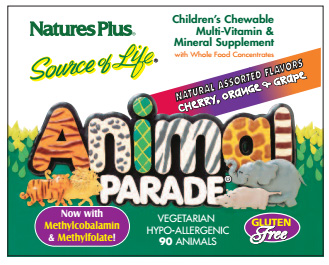 Request a free sample of Animal Parade Children's Vitamins
