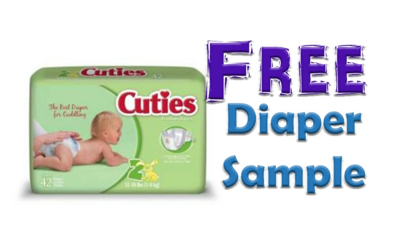 Hurry Moms! Get get free Cuties Diapers!