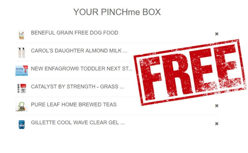 *HURRY* It's PINCHme Tuesday today! Get your box of freebies!