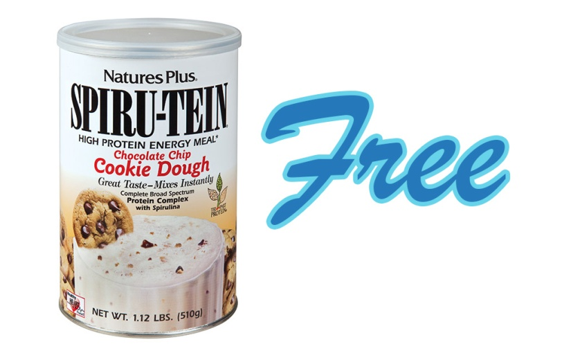 Get Nature's Plus Cookie Dough Shake Mix FREE