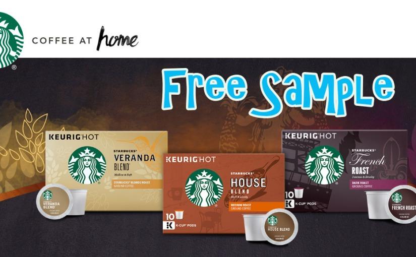 Free Starbucks K-Cup