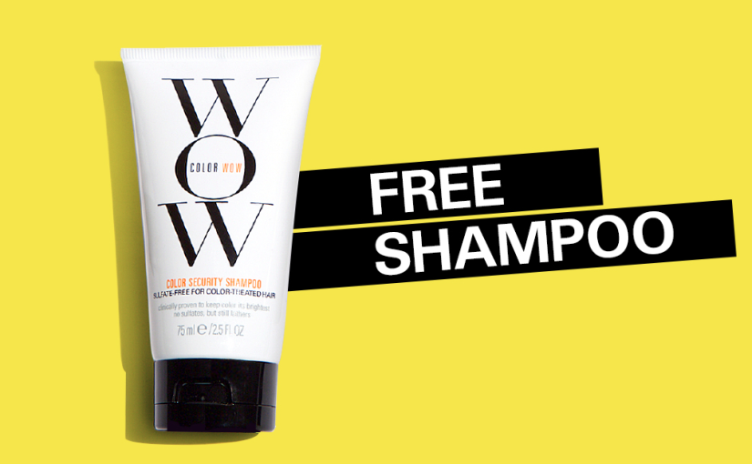 Hurry and get your free sample of WOW Shampoo