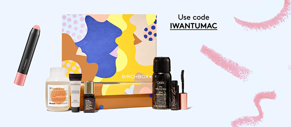 Right now you can get a FREE MAC Lip Pencil lipstick when you join BirchBox